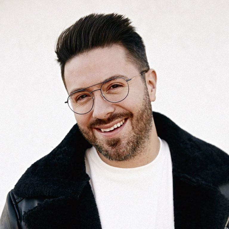 Danny Gokey headshot photo for At Home Concert Experience.